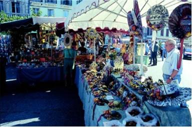 Markt von Forcalquier